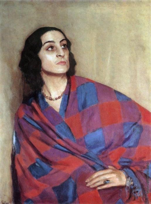 Грабарь И. Э. Портрет Е.Г.Никулиной-Волконской