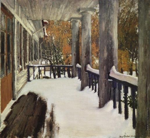 Грабарь И. Э. Сентябрьский снег