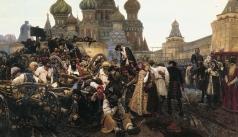 Суриков В. И. Утро стрелецкой казни