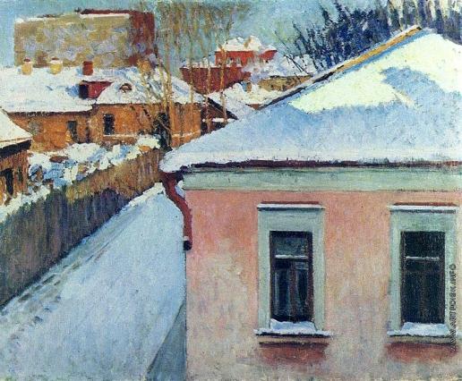Грабарь И. Э. Уголок уходящей Москвы