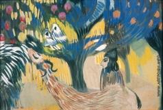 Сарьян М. С. У гранатового дерева