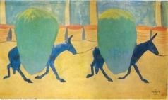 Сарьян М. С. Ослики. Константинопольские лошадки с зеленью