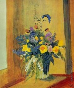 Сарьян М. С. Степные цветы. Натюрморт