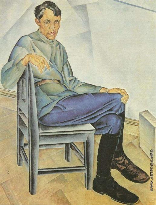 Дейнека А. А. Портрет художника К. А. Вялова