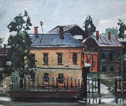 Дейнека А. А. Курск. После дождя