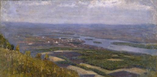 Суриков В. И. Вид на Красноярск с сопки