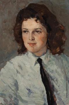 Вершигоров П. С. Девушка с черным галстуком