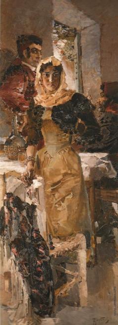 Врубель М. А. Испания