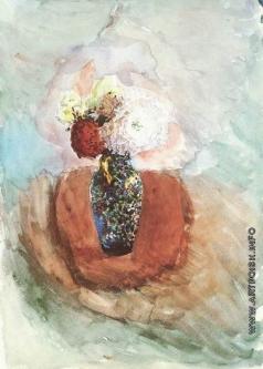 Врубель М. А. Букет в синей вазе