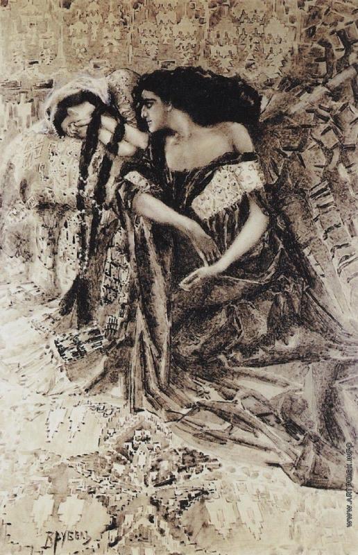 Врубель М. А. Тамара и Демон