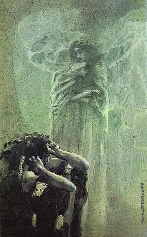 Врубель М. А. Демон