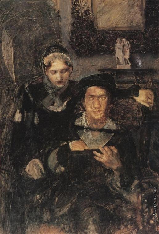 Врубель М. А. Гамлет и Офелия