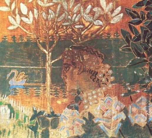 Врубель М. А. Гвидон. Экран для камина