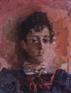 Врубель М. А. Портрет М.В. Якунчиковой