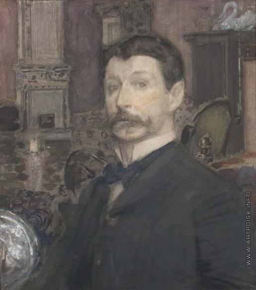 Врубель М. А. Автопортрет с жемчужной раковиной