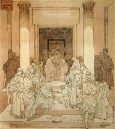 Врубель М. А. Обручение Святой Девы Марии с Иосифом