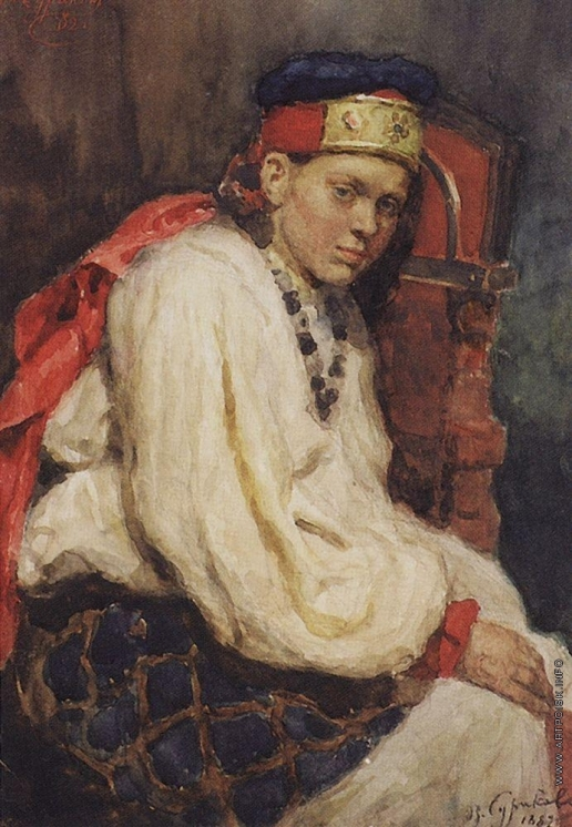 Суриков В. И. Натурщица