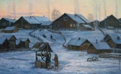 Брусилов С. А. В северной деревне