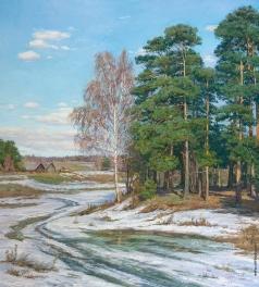 Брусилов С. А. Весна