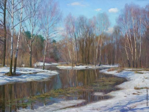 Брусилов С. А. Весна на Наре