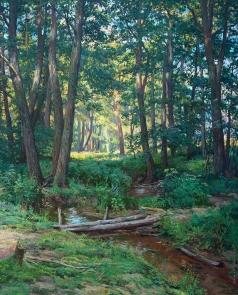 Брусилов С. А. Лесной ручей