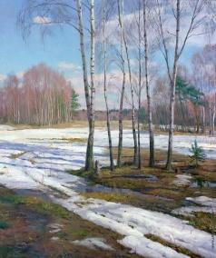 Брусилов С. А. Последний снег