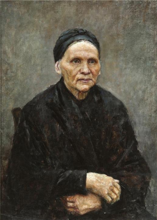 Суриков В. И. Портрет матери художника