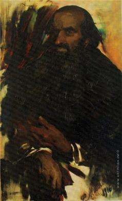 Малявин Ф. А. Мужской портрет