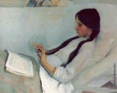Малявин Ф. А. Портрет Елизаветы Мартыновой