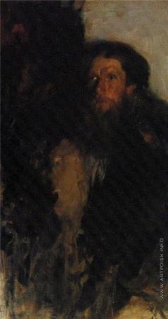 Малявин Ф. А. Портрет А.И. Малявина, отца художника