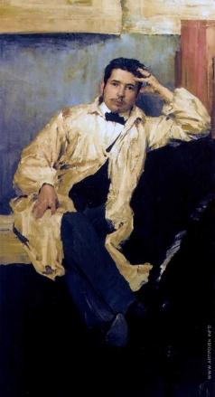 Малявин Ф. А. Портрет художника Константина Андреевича Сомова