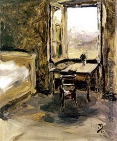 Якунчикова М. В. Темная комната с окном, открытым на Валисские горы