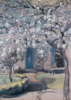 Якунчикова М. В. Цветущие яблони. Дерево в цвету