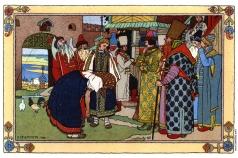 Билибин И. Я. Иллюстрация к сказке «Василиса Прекрасная»