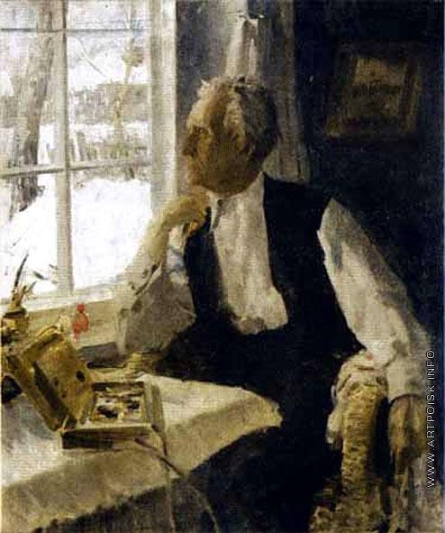 Максимов К. М. Портрет художника М.Я. Львова