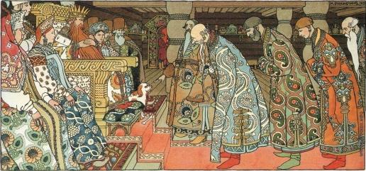 Билибин И. Я. Иллюстрация к «Сказке о царе Салтане»