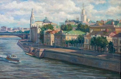 Брусилов А. В. Вечер на Софийской набережной