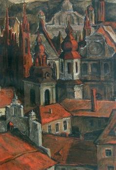 Брусилов А. В. Старинная готика Вильнюса