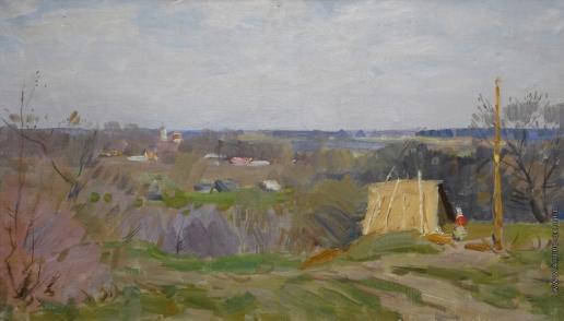 Цыплаков В. Г. Весна в Троицком
